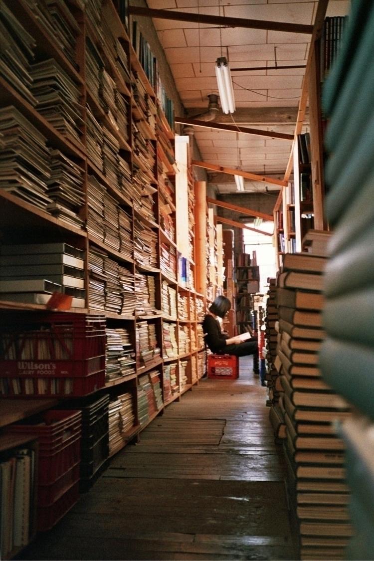 bookworm - film, 35mm, books, analog - zelmanski   ello