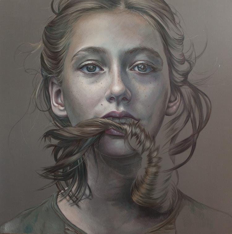 Age Defiance, oil canvas, 2017 - kathrinlonghurst | ello