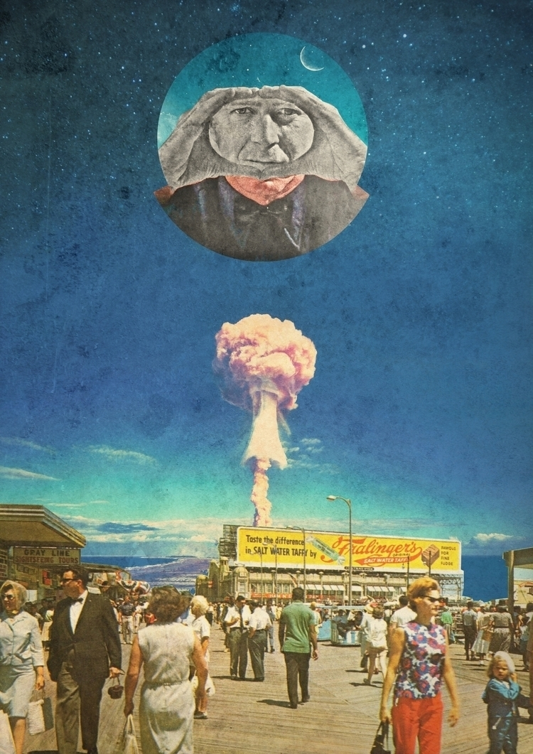 МЕСТЬ - collage, collageart, surrealcollage - gospodinkrugly | ello