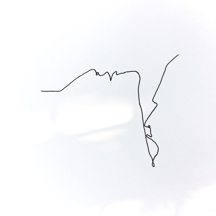 kiss - shades, minimalism, sketchbook - aneesity | ello