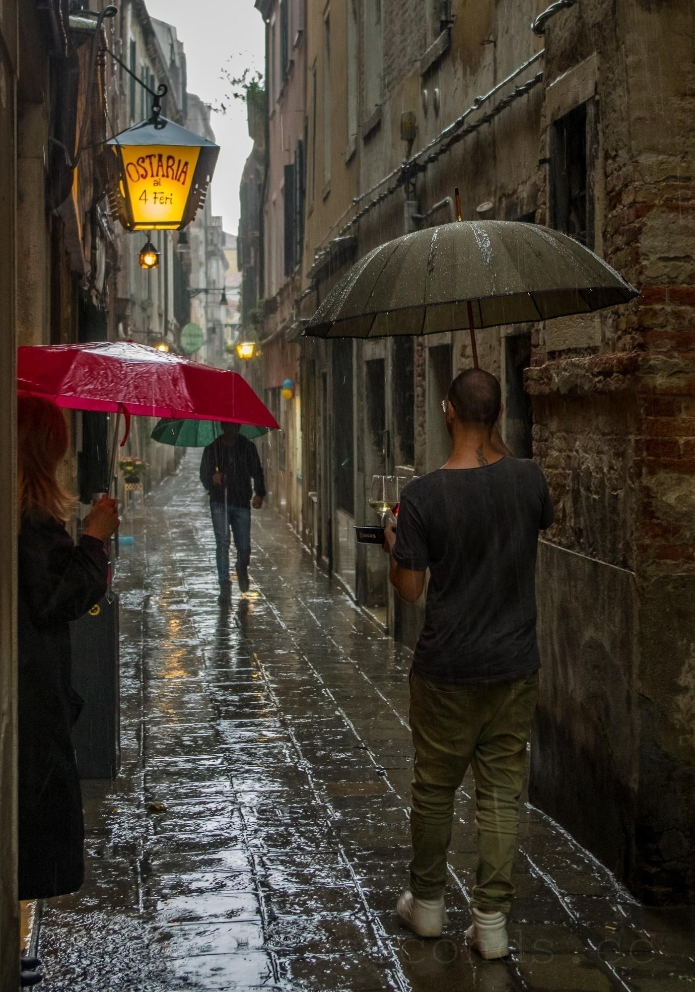 big rain ... Venice, Dorsoduro - mickinger   ello