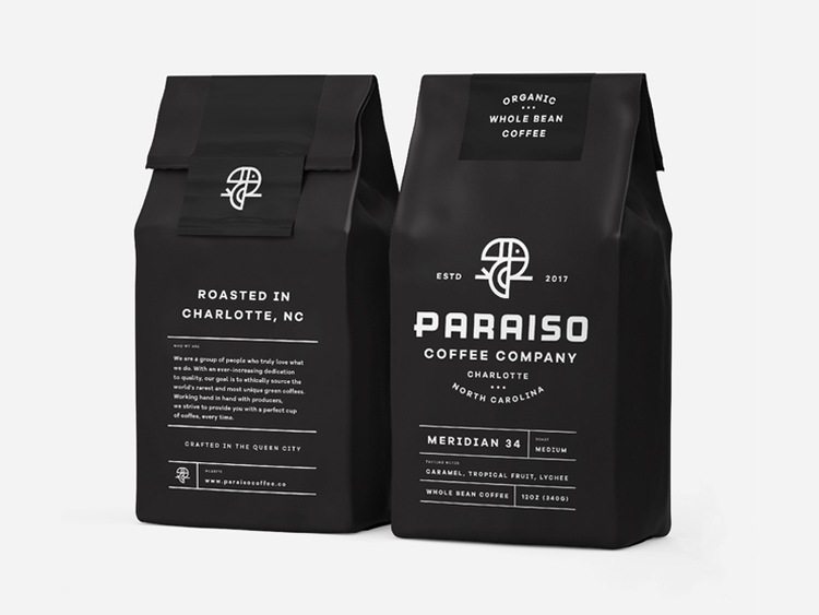 Packaging Paraiso Coffee Co - branding - ryanprudhomme | ello