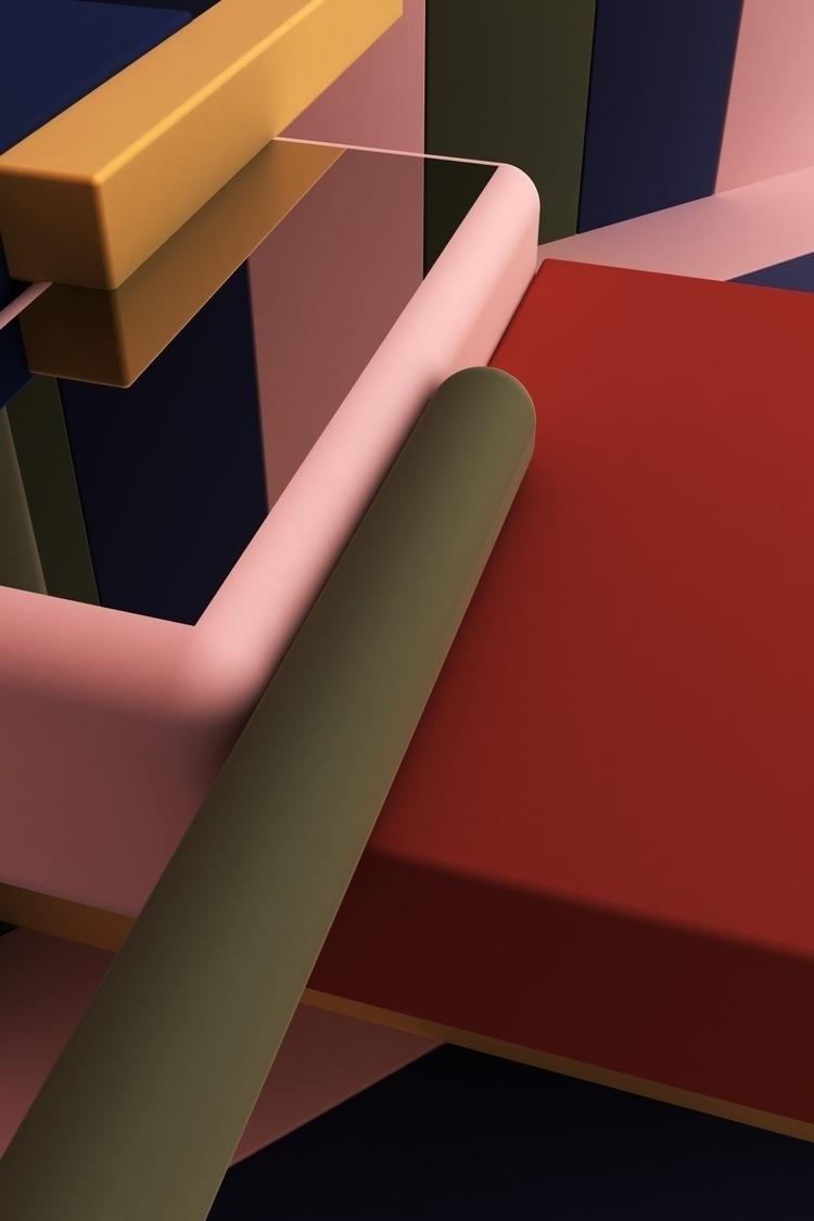 Multicolor 2 - setdesign, 3d, graphicdesign - kmjcr | ello