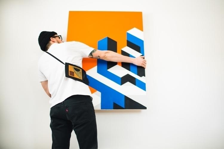 Hang em - art, artwork, modernart - jeremybooth | ello