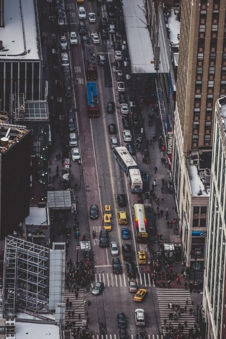 nyc, newyork, citystreets - seantlarochelle | ello