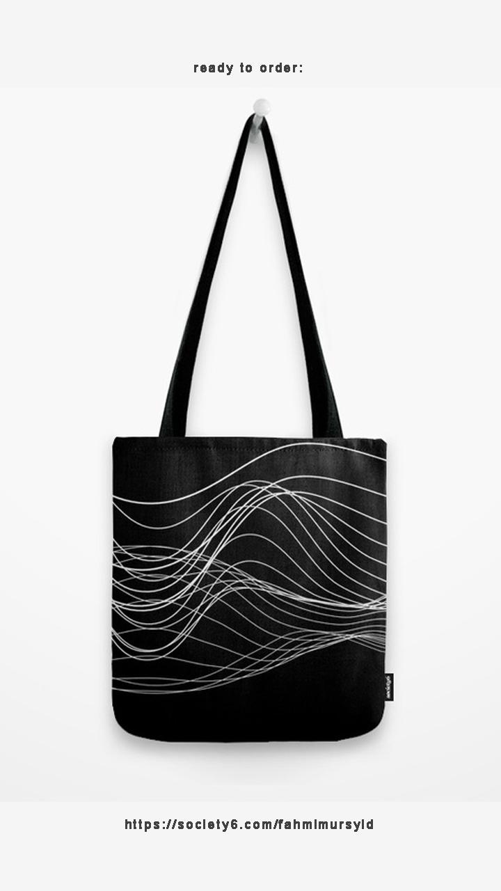 Tote bag, order  - glitch, glitchart - fahmi_m   ello