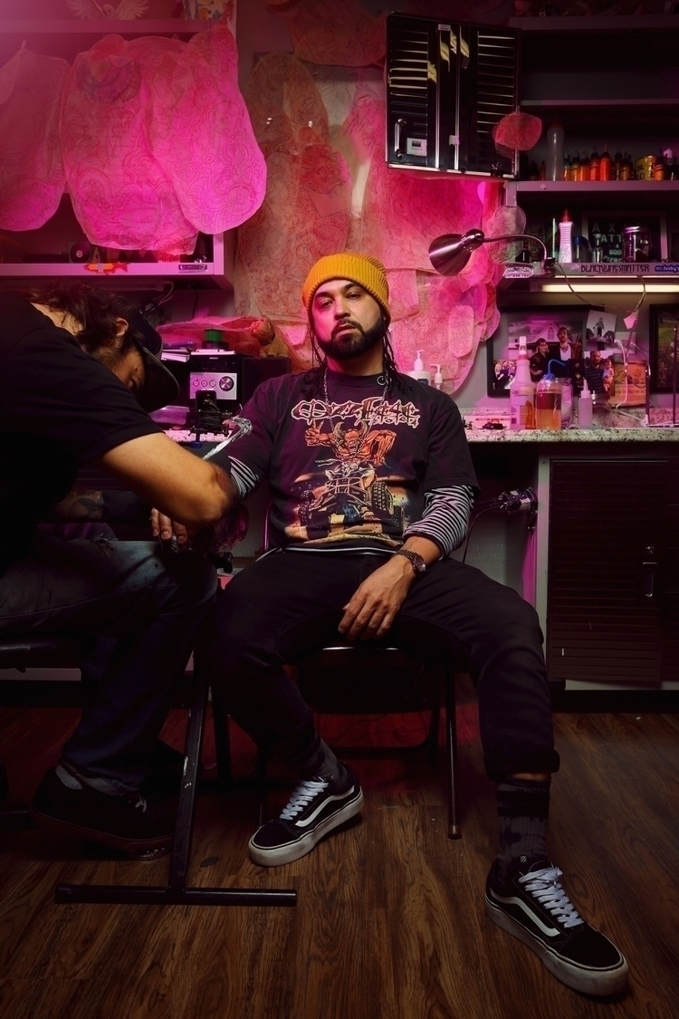 El Dusty tattooed Michael Casar - duscraftphoto | ello