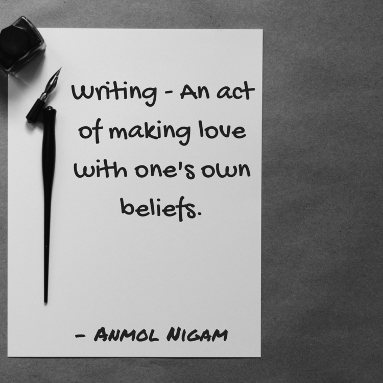 Writing.  - writer, writers, writerspot - theanmolnigam | ello
