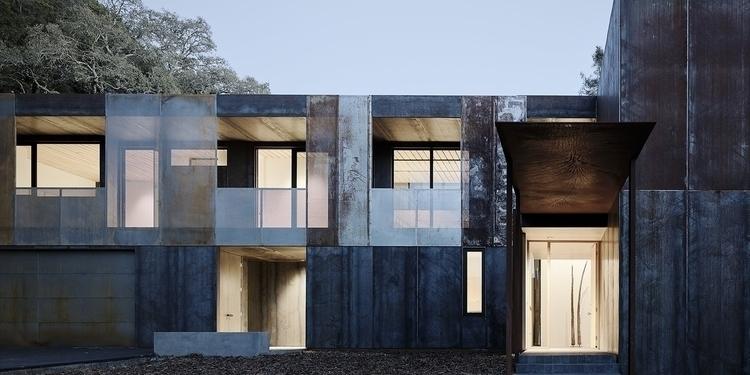 Sculptural Steel House Faulkner - thetreemag | ello