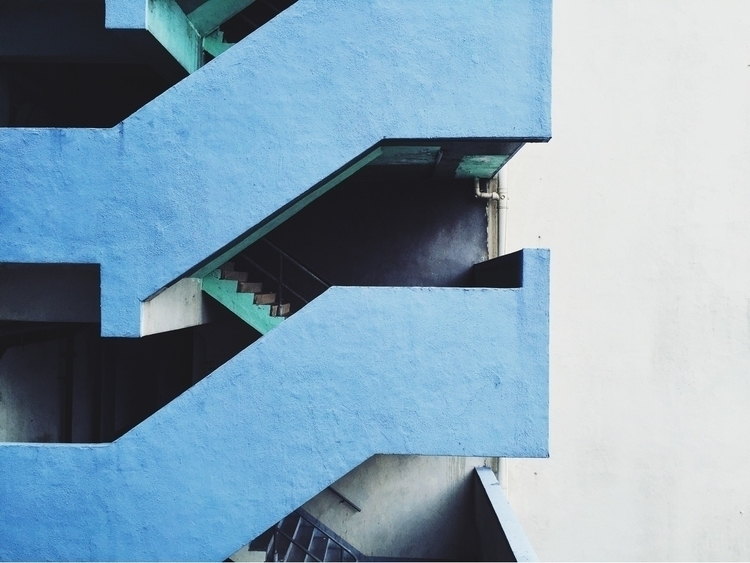 Staircase - iphone, architecture - matthewng | ello