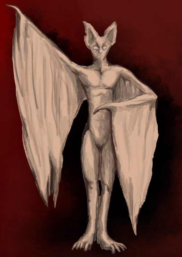 Thinking bats - sketches - nikita_r | ello