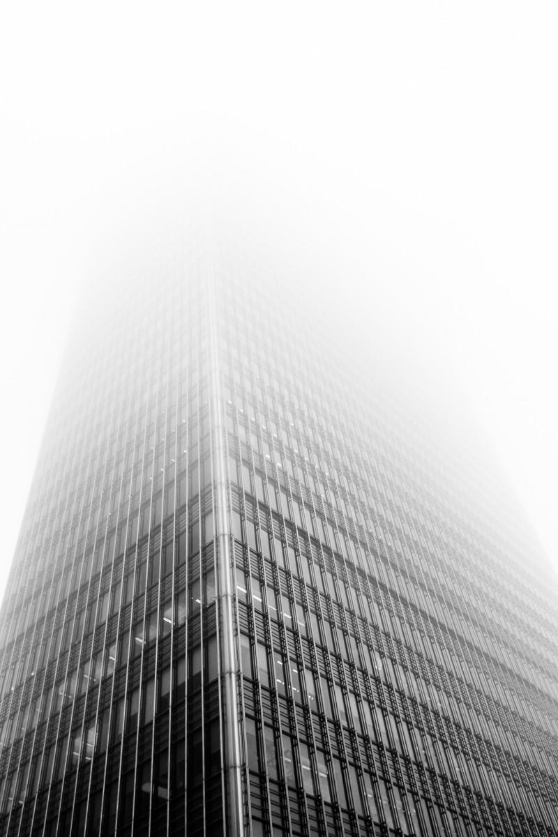 | Canary Wharf - London, fog - fabianodu | ello