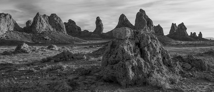formation, Trona Pinnacles, Cal - frankfosterphotography | ello