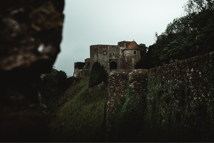 gate house Dover castle - photography - leewalkerphotog | ello