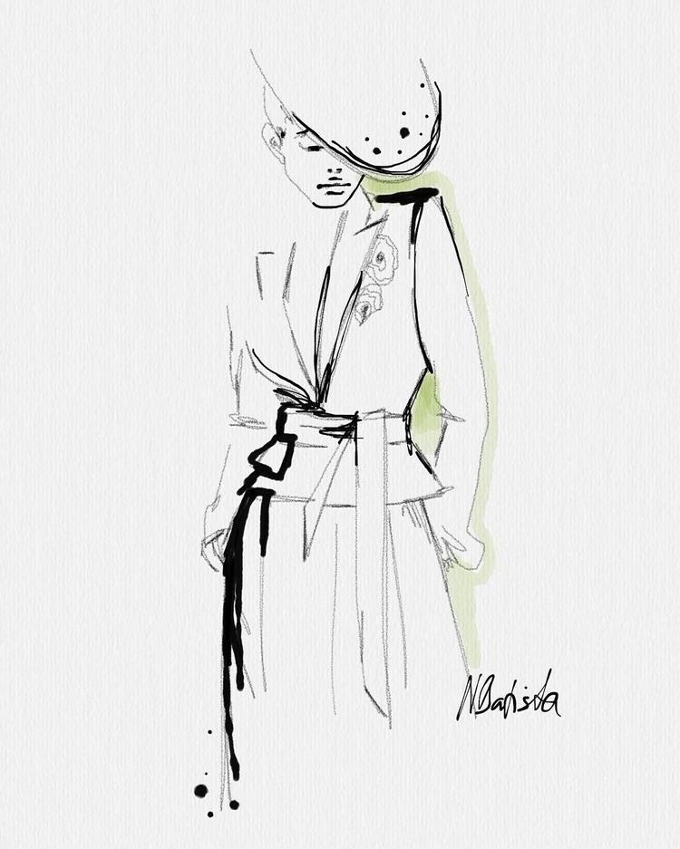 VAUTHIER Digital illustration A - nadinebatista | ello