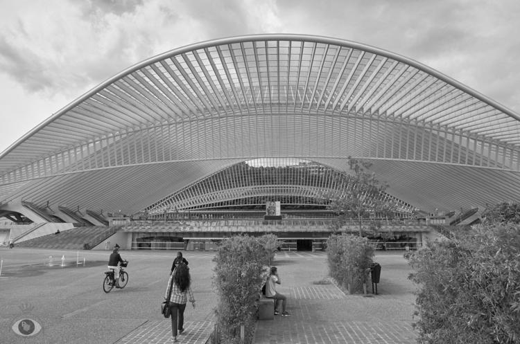 Guillemins railway station - co - pentaxke | ello