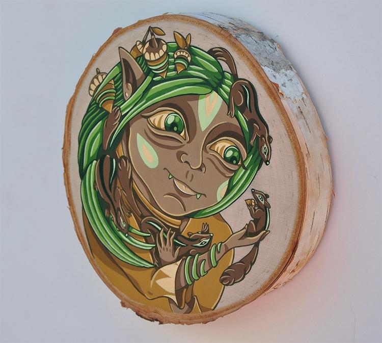 Spirit Woodland Creatures, goua - sagecotignola | ello