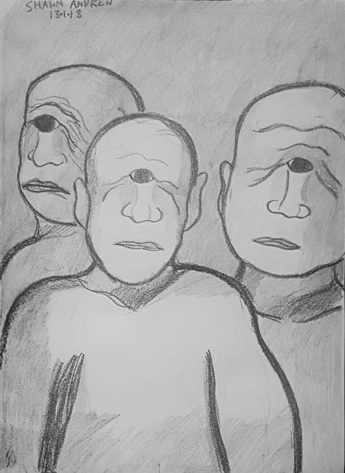 Cyclopes - Lumocolor pencil dra - shawnartist | ello