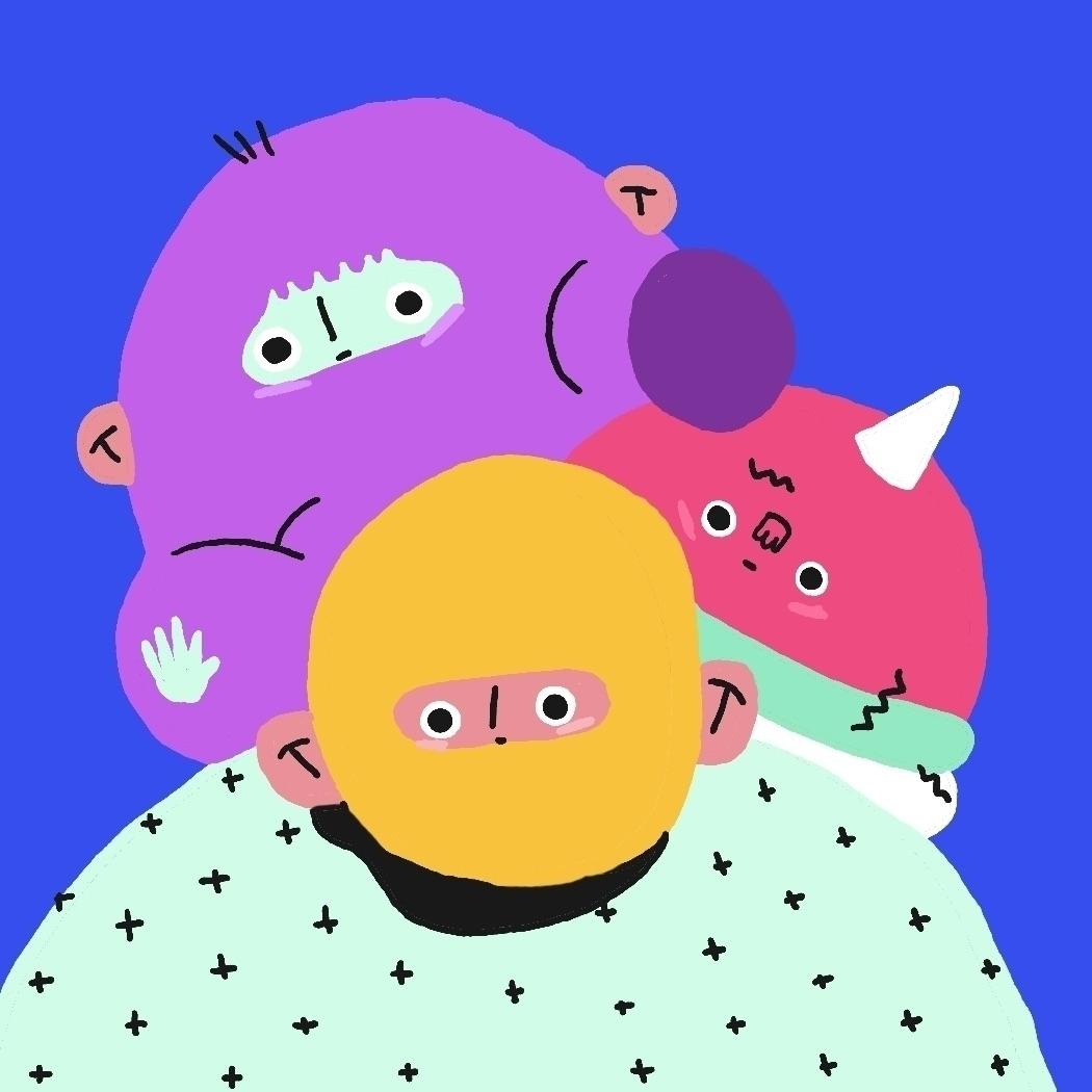 friends - character, characterdesigner - nosoyserge | ello