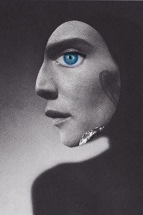 Mask. handmade collage, January - ewalook   ello