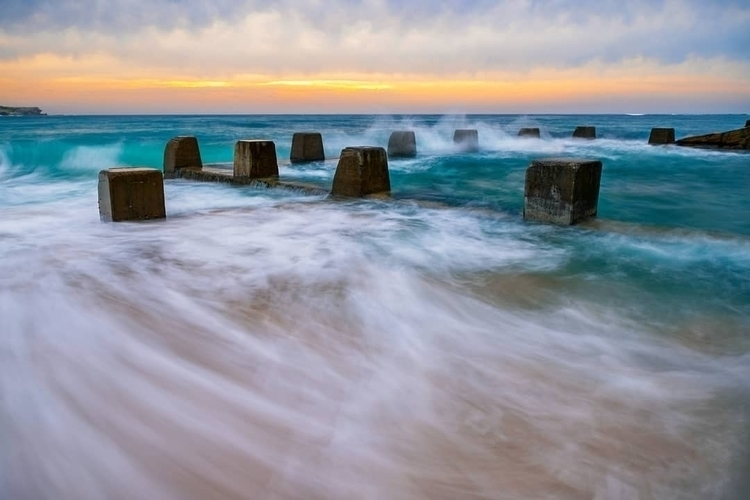 Tide - thetide, sunrise, ocean, waves - shootthrillz | ello