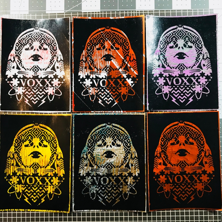 Heat press sublimation stickers - voxxromana | ello