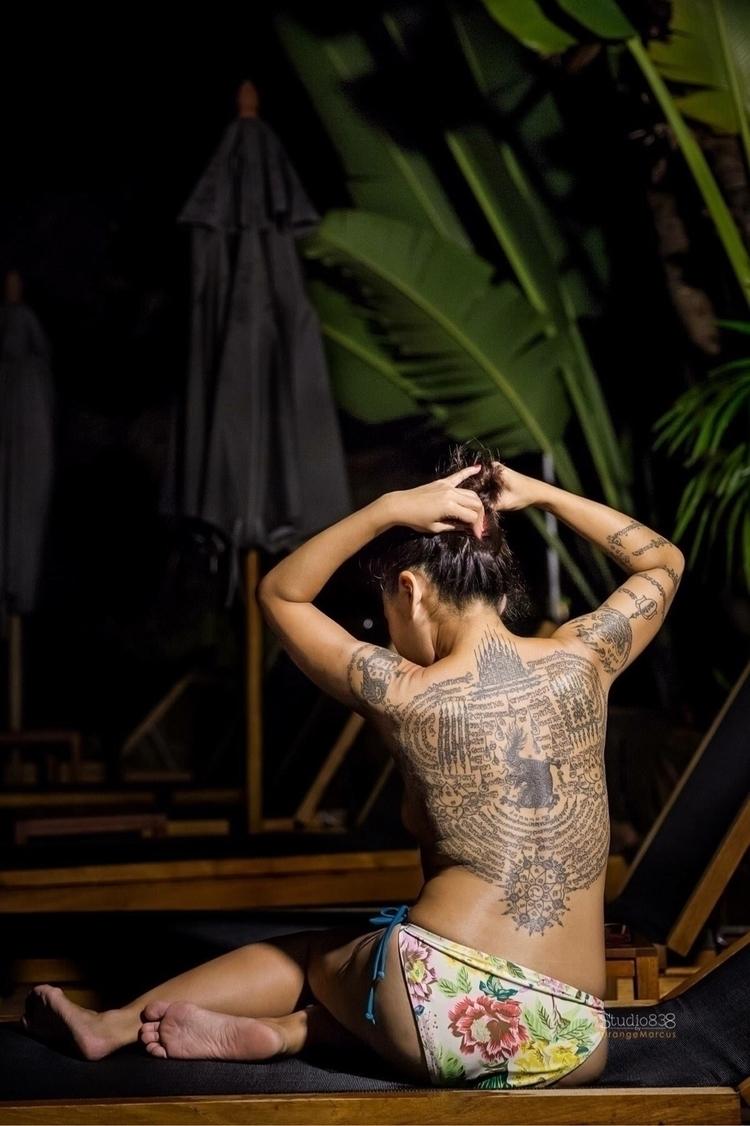 Eden Sak Yant tattoos Ajarn Meu - iam_orangemarcus | ello