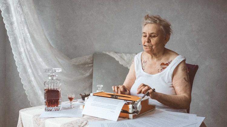 portraits Granny - family album - planetaks | ello