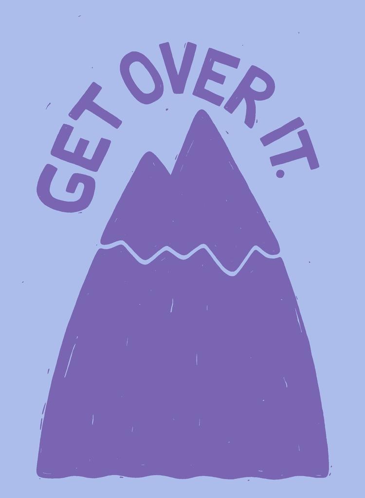GONNA MOUNTAIN - typography, illustration - angchor | ello