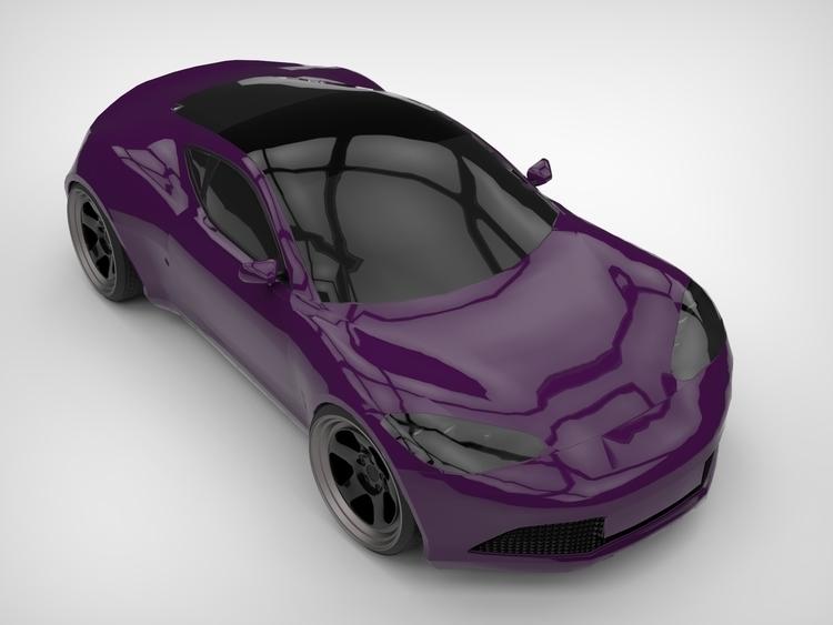 Custom sportscar (based Artega  - apparentlyartsy | ello