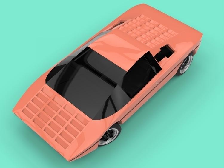 Lamborghini Bravo - apparentlyartsy   ello
