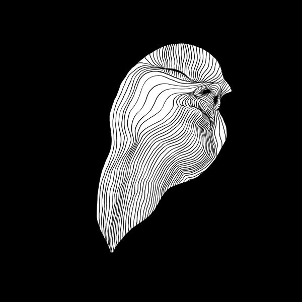 Drowning. Black, white lines - lineart - goragorskiy | ello