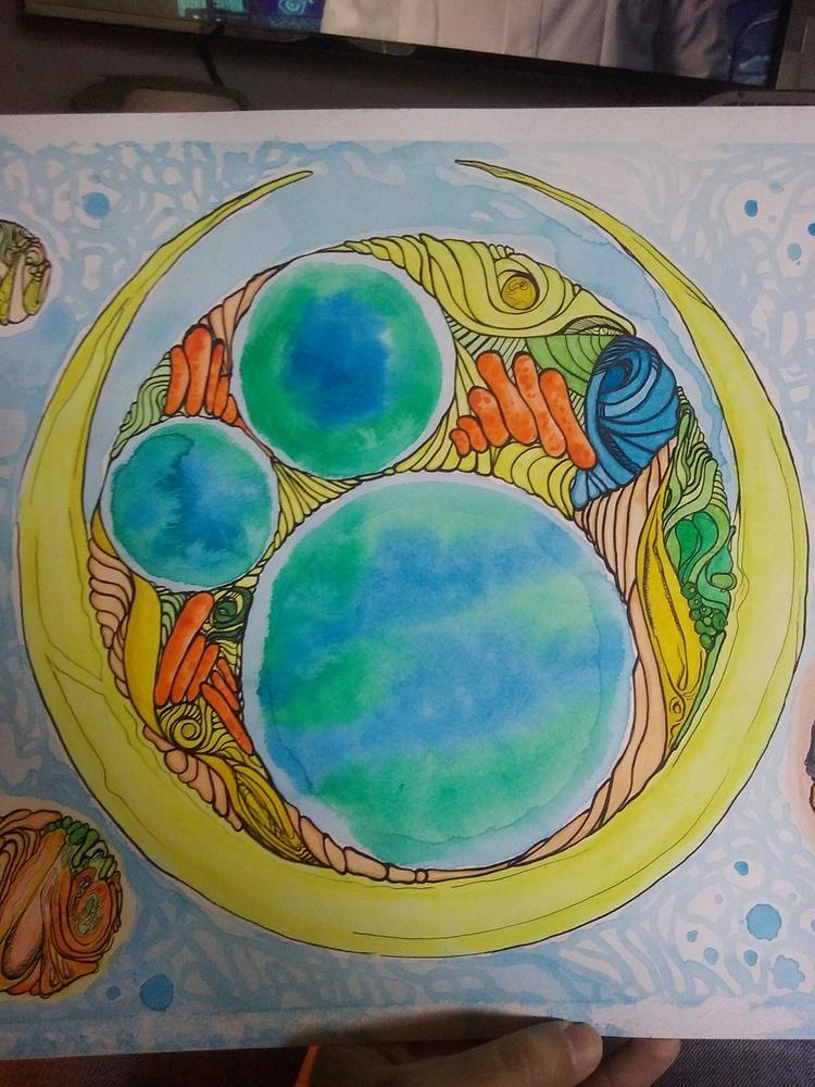 olo 12 18 - watercolor, ink - eat_me | ello