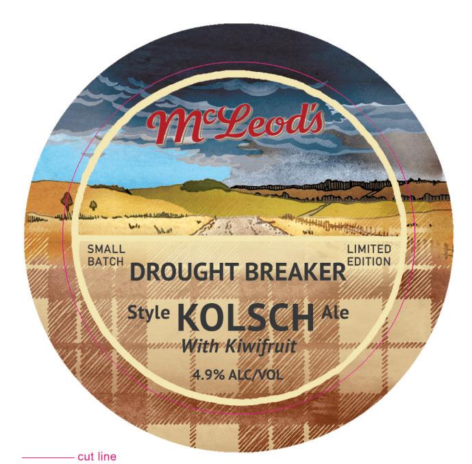 Drought Breaker Kolsch beer tap - sarahlarnach | ello