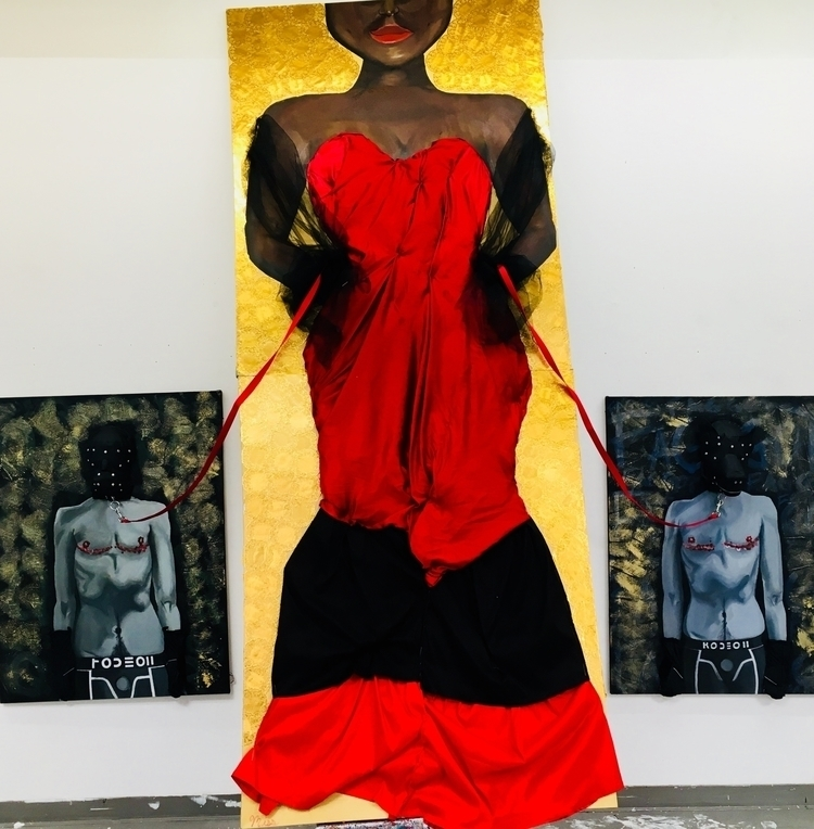 God aka Black trans women piece - dominiquev | ello