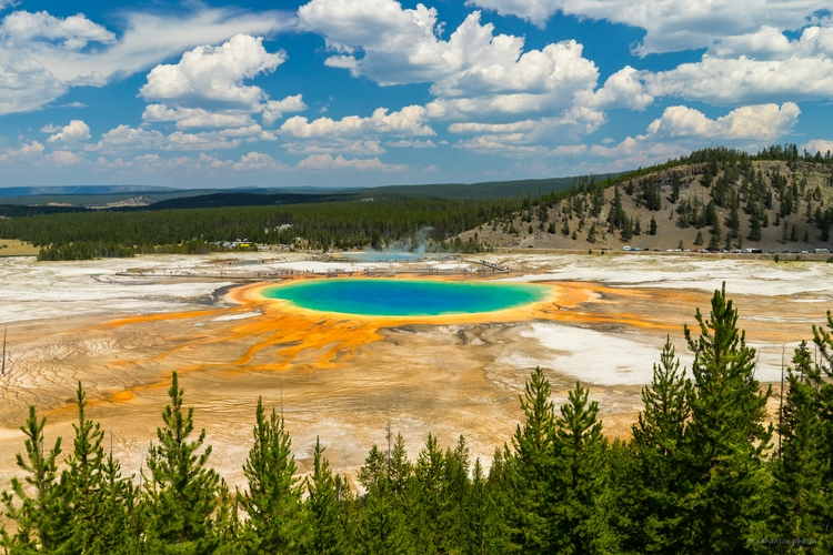 Grand Prismatic Spring, Yellows - ebhanson | ello