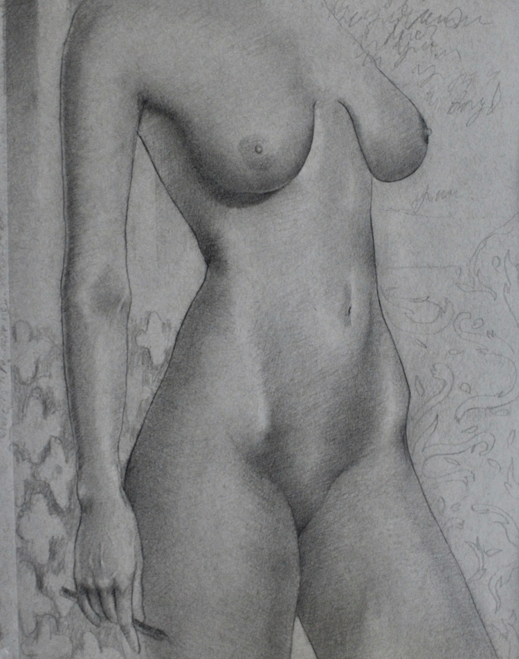 Figure study lovely Stella Grap - itsallinmind | ello