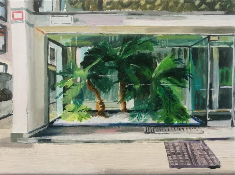 Missoni 18 cm 24 Oil canvas - frederikschnieders | ello