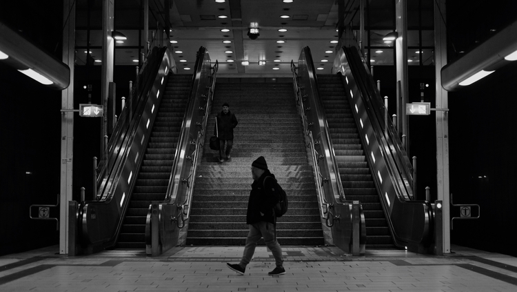 Underground commuter FFM Dec. 2 - thanospal | ello