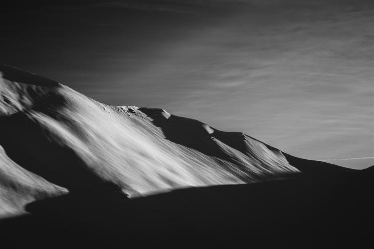 Sand snow - blackandwhite, photography - igverona | ello