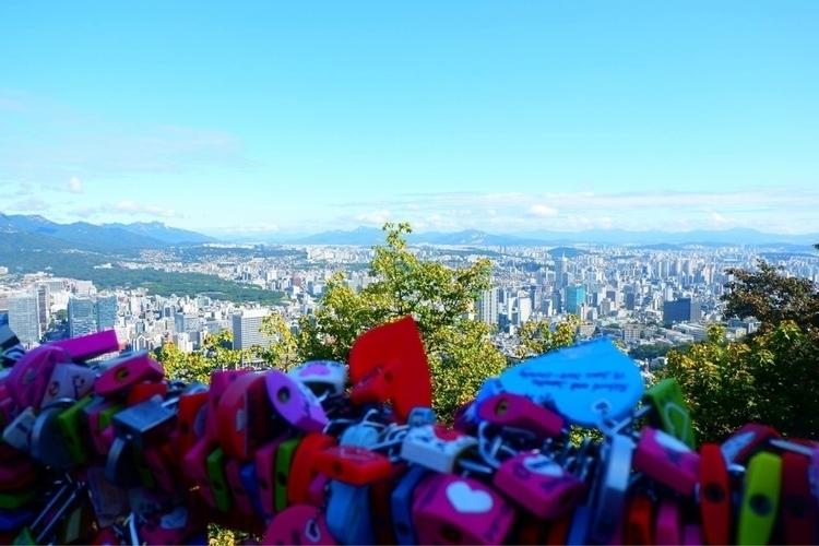 Locks Love Seoul Tower Seoul, S - nettegee | ello