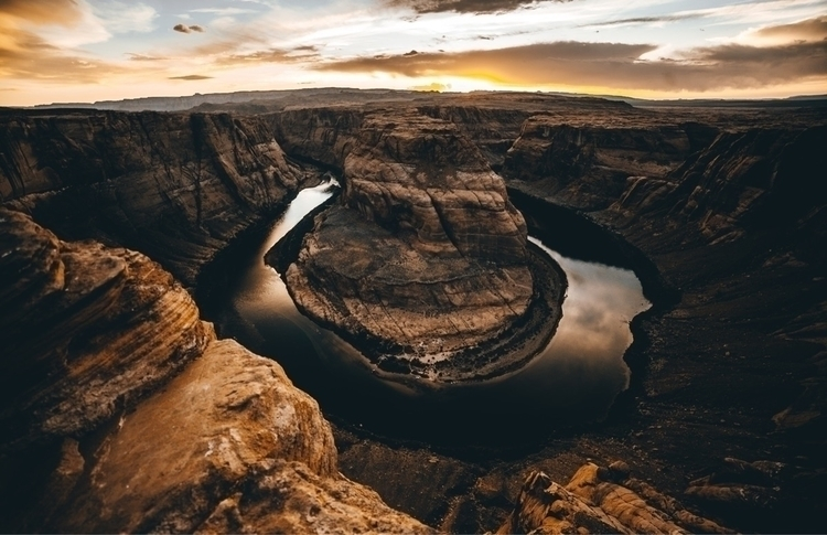 Horseshoe-Bend Sunset - horseshoebend - lowg | ello