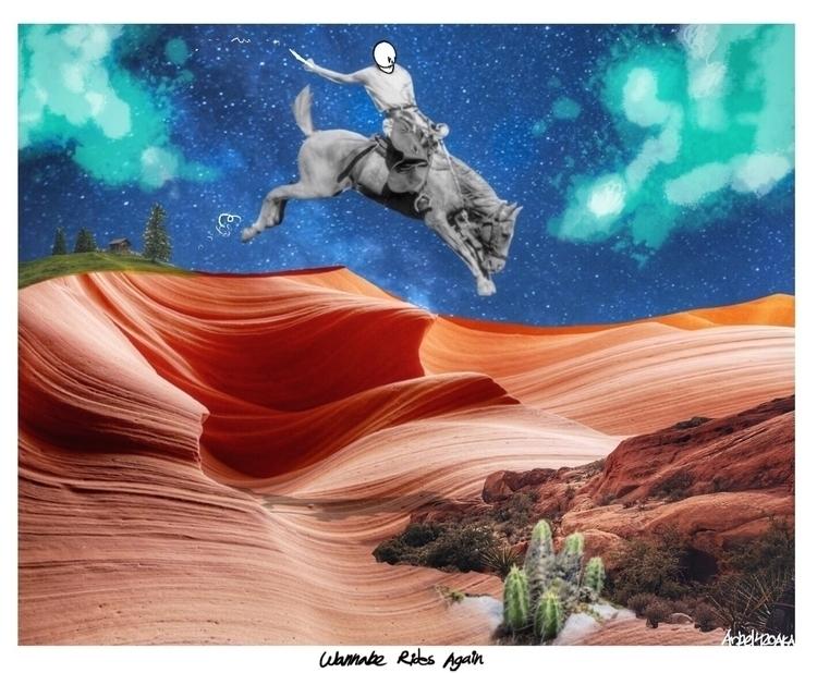 Wannabe Rides - popsurrealism, surrealist - arbel420aka | ello