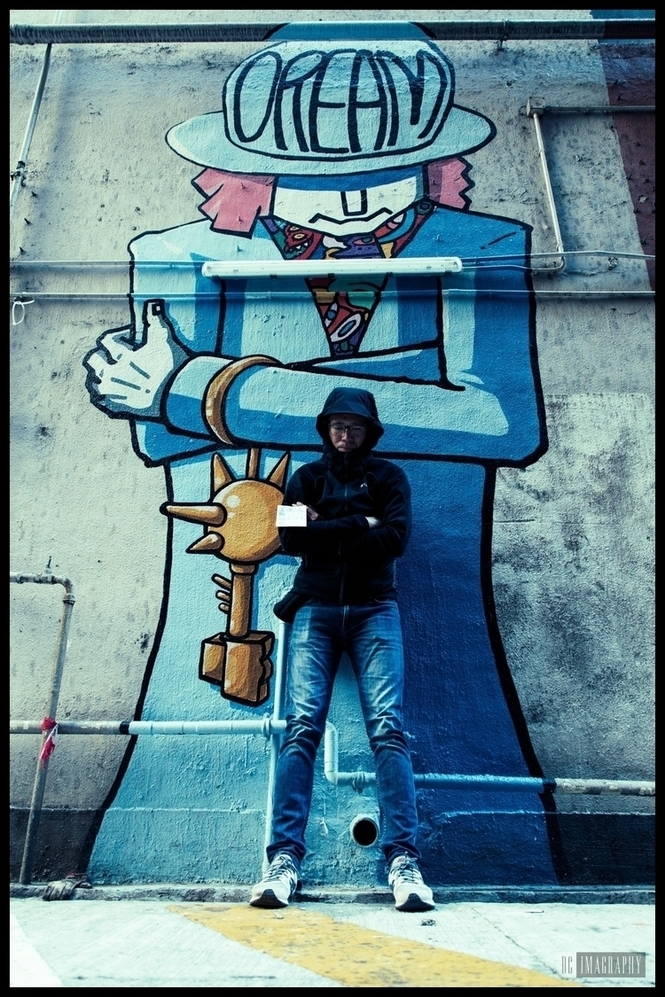 HongKong, KwunTong, Graffiti - dcmiracle | ello