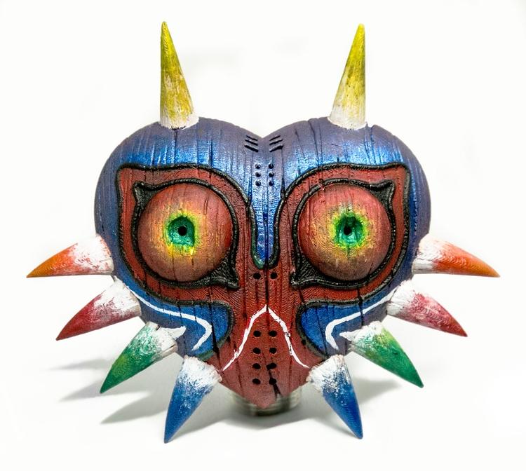 Majora Mask 3D Print Paint - subnomadix | ello