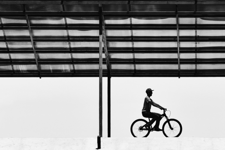 blackandwhite, bicycle, Ecuador - alejandrofabara | ello