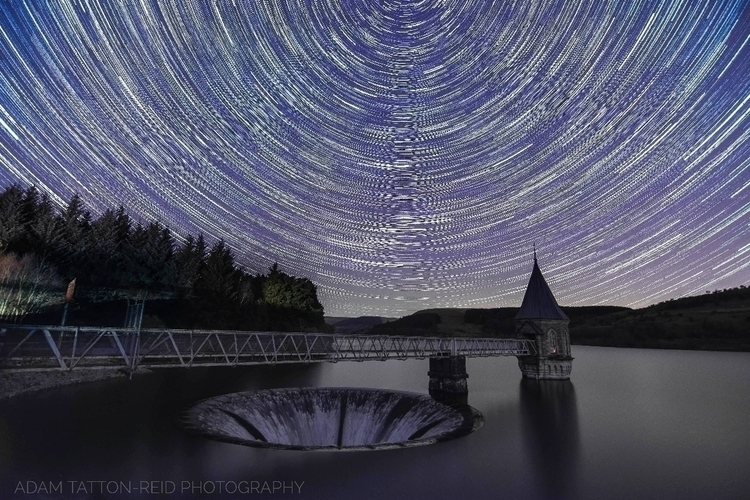 Star trail Pontsticill Reservoi - adamtattonreid | ello
