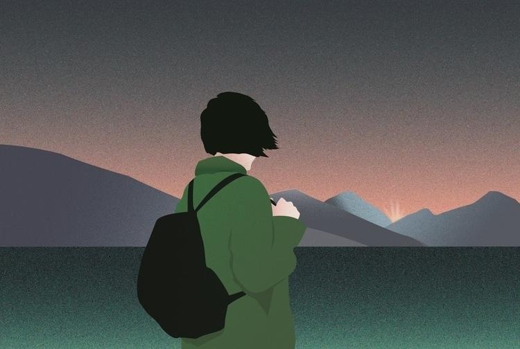 landscape (2018 - solnaciente, chinesdream - multiplicidad | ello