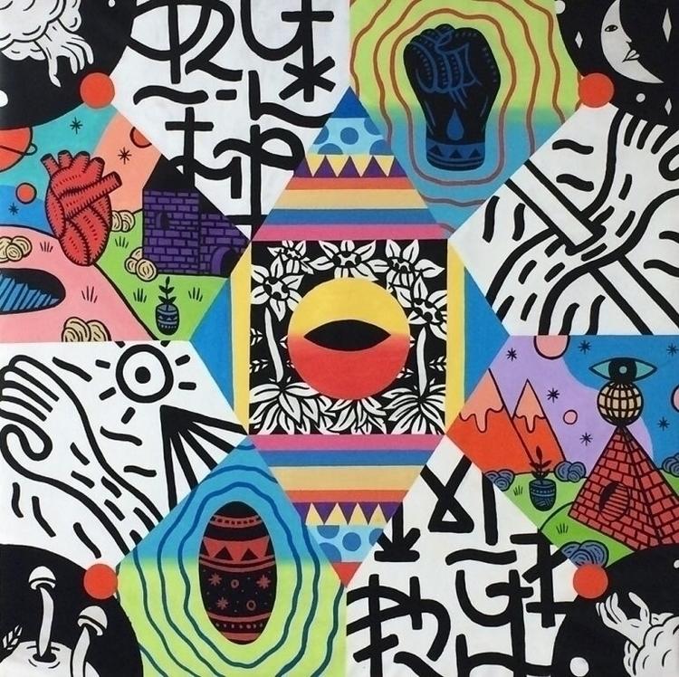 Perception, 2016 Acrylic canvas - kylam | ello