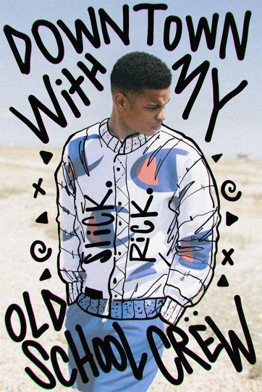 cc - SlickRick, hiphop, typography - brisseaux | ello